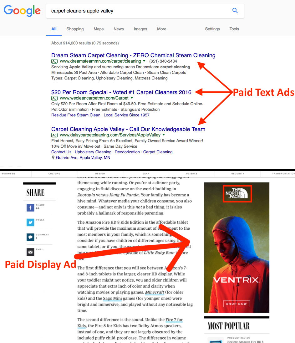 Pay-Per-Click Advertising (PPC)